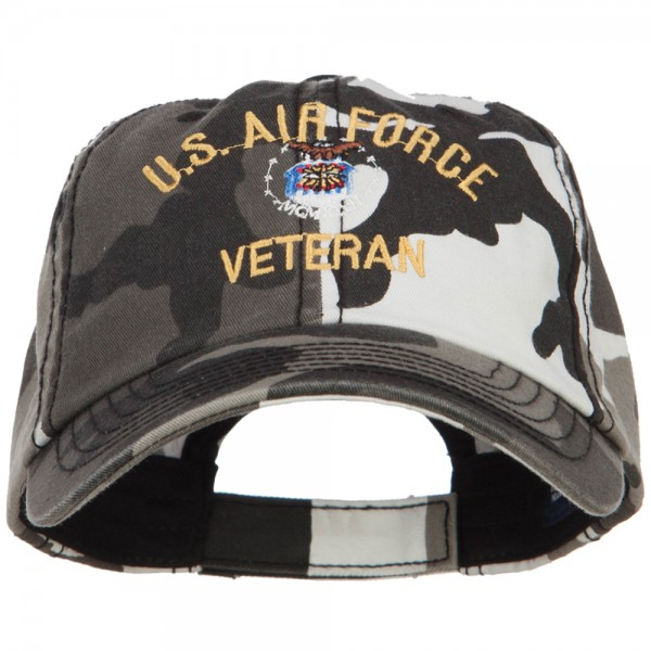 83cd605711185 ... US Air Force Veteran Military Embroidered Enzyme Camo Cap - City. City  (View 1) ...