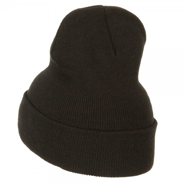 106cbb164d7 ... German Shepherd Embroidered Long Beanie - Black. Black (View 1)  Black  (View 2) ...