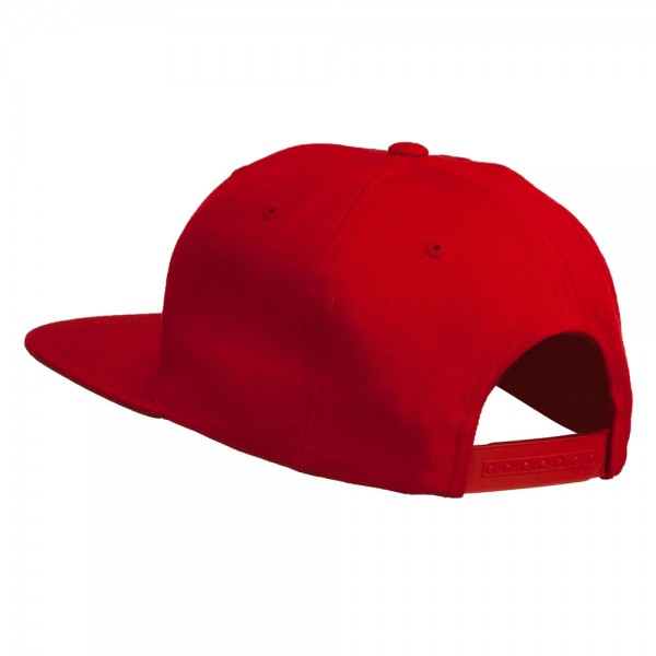 d739d239c78 ... Happy New Year Embroidered Flat Bill Cap - Red ...
