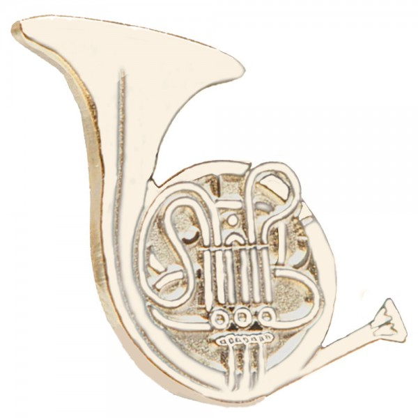 Lovely $14.99 Musical Instruments Lapel Pin   French Horn $14.99 Musical  Instruments ...