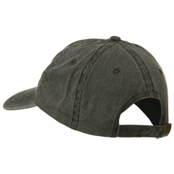 4db1cf5061b3c Embroidered Cap - Black NASA Insignia Embroidered Dyed Cap | Coupon ...