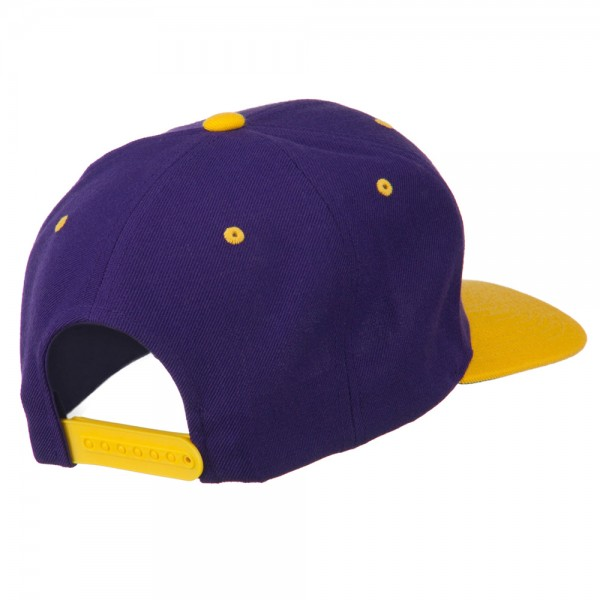Athletic Number 9 Embroidered Classic Two Tone Cap