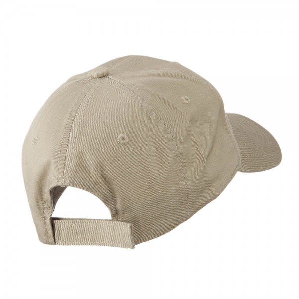 710fe0a4f95 ... USA State Flower New York Rose Embroidery Cap - Khaki ...