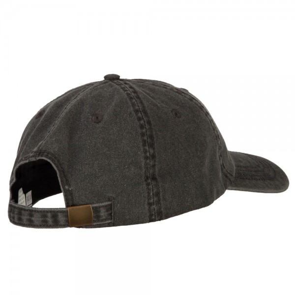 a90f491dbcb ... US Army Retired Circle Embroidered Big Size Washed Cap - Black ...