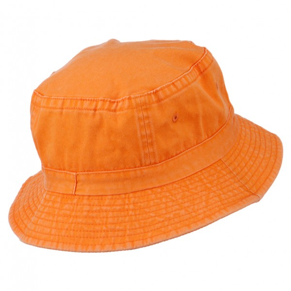 1fe61887b71d6 ... Texas State Map Embroidered Bucket Hat - Orange ...