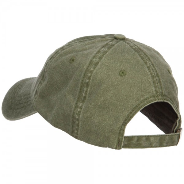 4d0027a737e ... US Army Veteran Military Embroidered Washed Cap - Olive ...