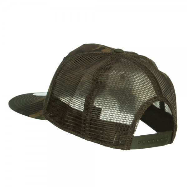 Embroidered Cap - Camo Olive Subdued American Flag Patched Camo ... a74933f4242