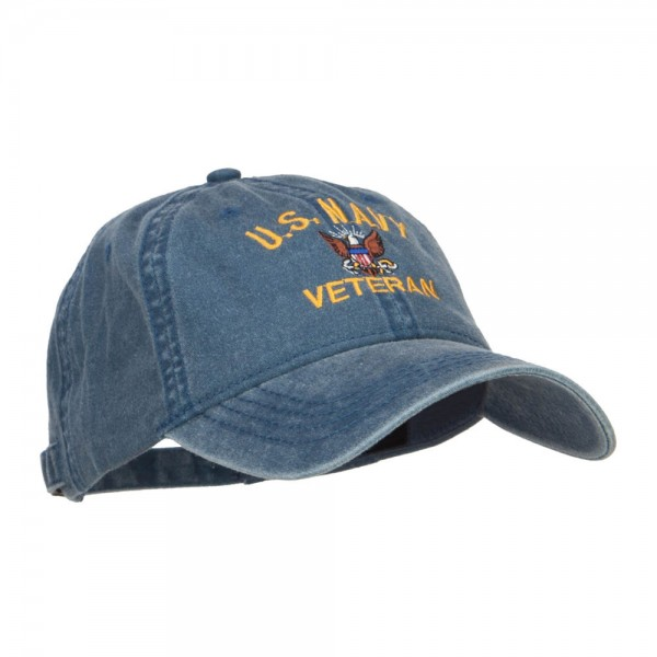 2 of 8 New U.s Military Navy Veteran Hat Embroidered Ball Cap Official Navy  Cap