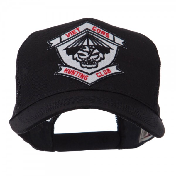 d2d118f5184 Embroidered Cap - Viet Cong 3 Veteran Embroidered Patched Cap ...