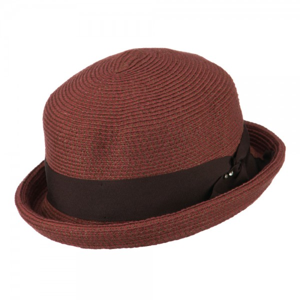 how to make a paper bowler hat