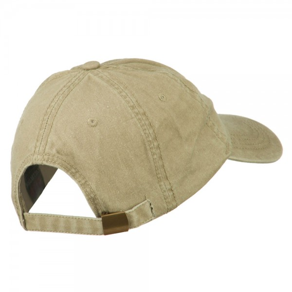 baf59b1a09b Embroidered Cap - Khaki New York Map Embroidered Cap    e4Hats