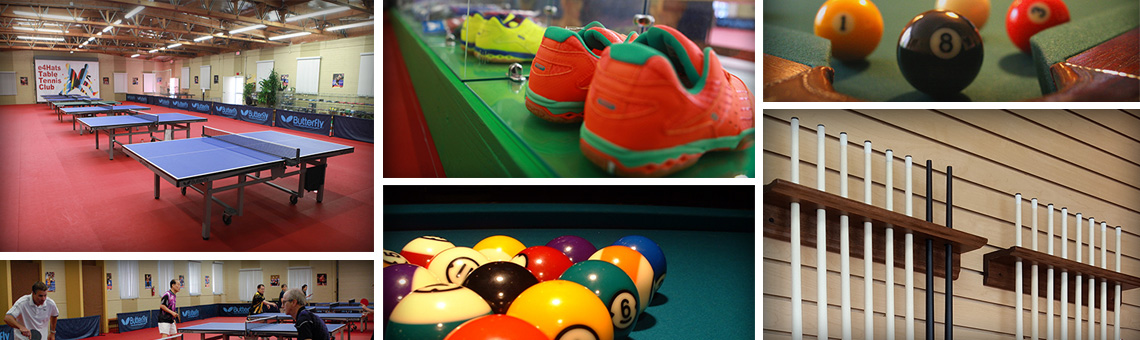 e4Hats Table Tennis & Pool Billiards Club in Fullerton, CA